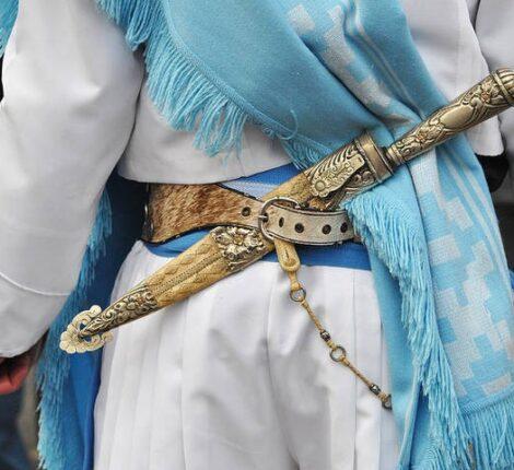 Argentine gaucho knife facon
